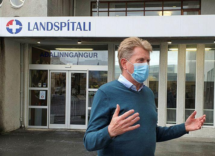 Már Kristjánsson, yfirlæknir smitsjúkdómalækninga Landspítalans.