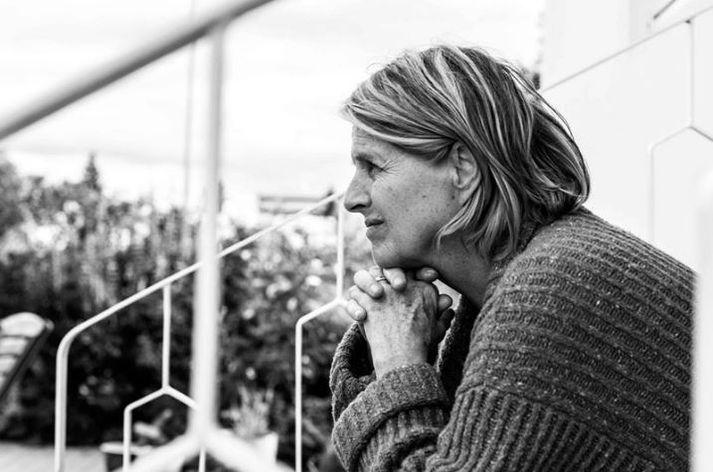 Edda Björgvinsdóttir fer á kostum í myndinni.