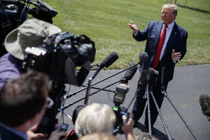 Donald Trump, forseti Bandaríkjanna