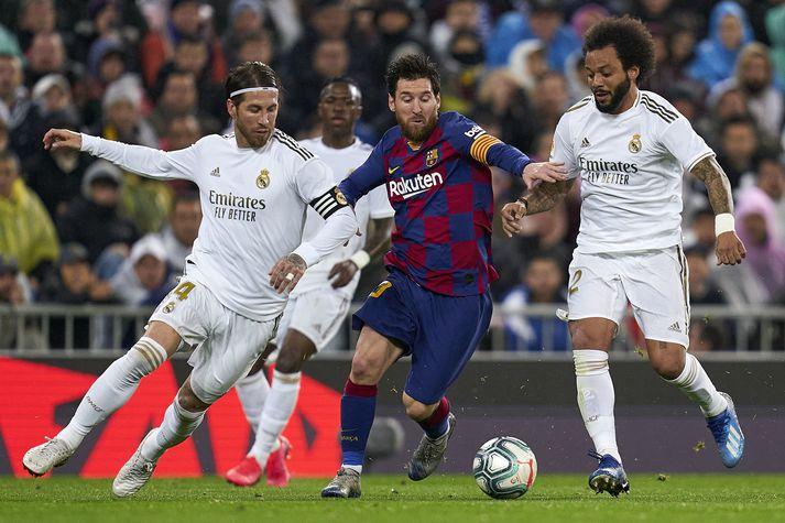 Digrir sjóðir spænsku stórveldanna Real Madrid og Barcelona virðast uppurnir.