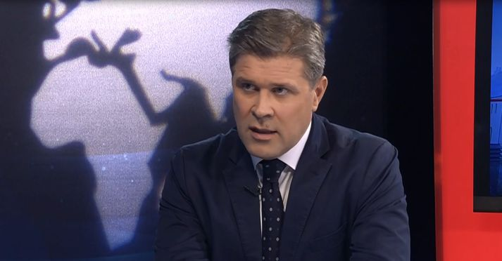 Bjarni Benediktsson var gestur Heimis Más Péturssonar í Víglínunni í dag.