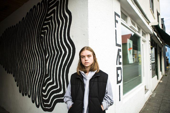Hægt er að berja augum um 140 teikningar Melkorku af hinum ýmsu persónum á Instagram sýningunni.