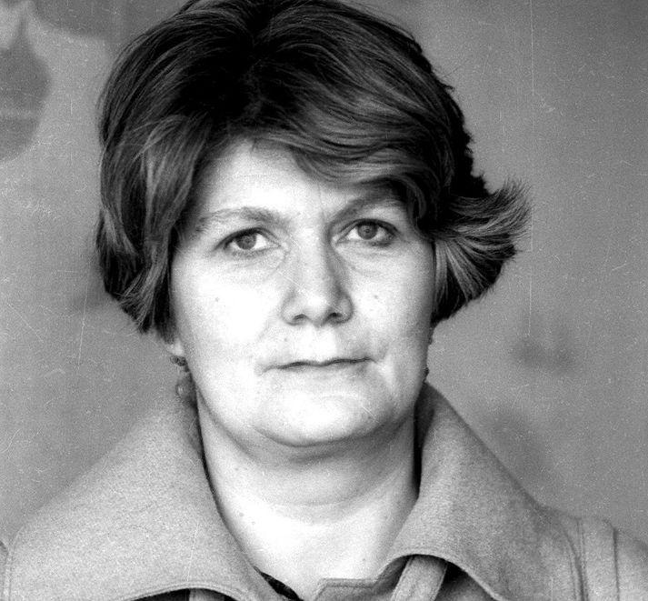 Guðrún Þ. Stephensen, fædd 29. mars 1931, látin 16.apríl 2018.
