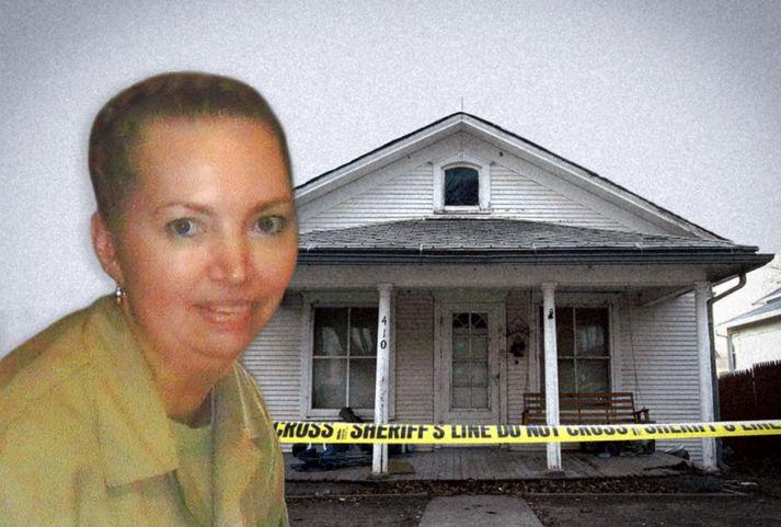 Lisa Montgomery myrti Bobbie Jo Stinnett á heimili þeirrar síðarnefndu í desember 2004.