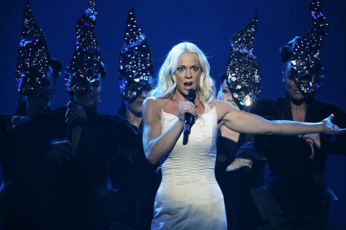 Malena Ernman keppti fyrir hönd Svía í Eurovision árið 2009.