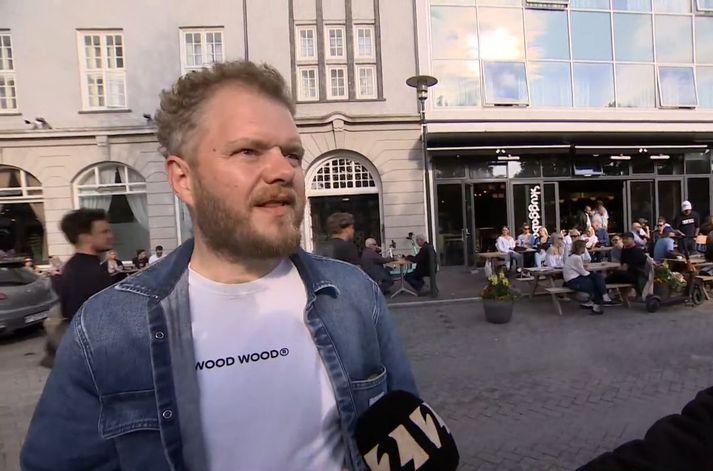 Jón Mýrdal, veitingamaður á Skuggabaldri.