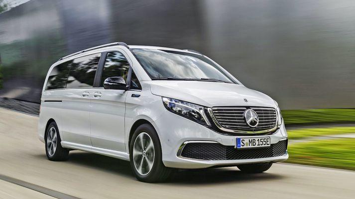 Mercedes-Benz EQV er kominn í sölu.