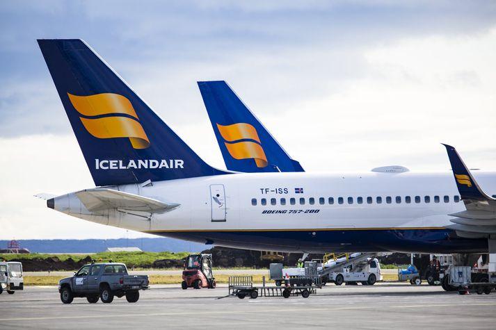 Greint var frá kaupum Icelandair á WOW air á mánudag en kaupin eru gerð með fyrirvara um samþykki Samkeppniseftirlitsins.