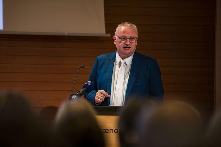 Páll Hreinsson er í leyfi frá Hæstarétti á meðan hann gegnir dómstörfum hjá EFTA.