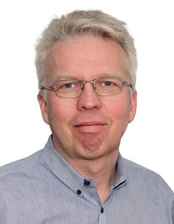 Jón Viðar Guðjónsson er byggingartæknifræðingur að mennt.