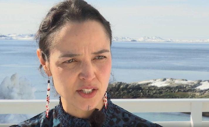 Katti Frederiksen tók við sem mennta- og menningarmálaráðherra Grænlands í fyrra.