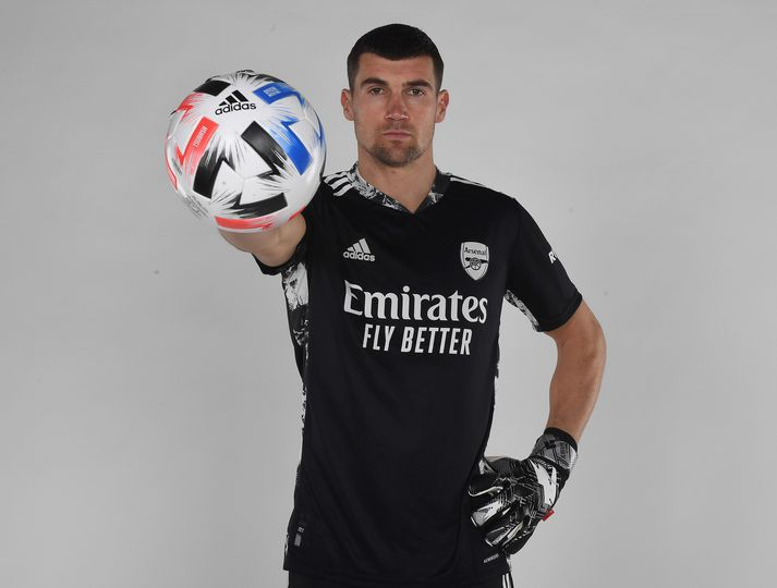 Mat Ryan er alsæll með vistaskiptin til Arsenal enda stuðningsmaður félagsins.