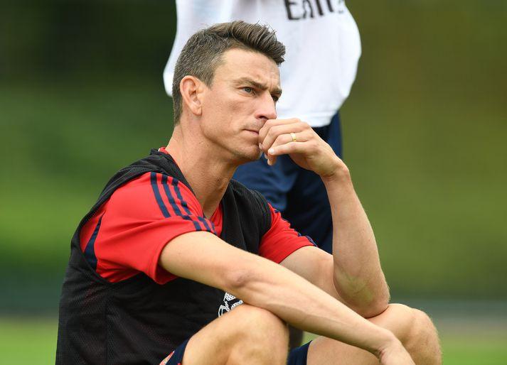 Koscielny hefur verið hjá Arsenal í níu ár.