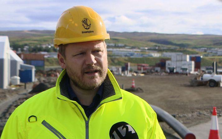 Snæbjörn Sigurðarson, verkefnastjóri hjá Norðurþingi.