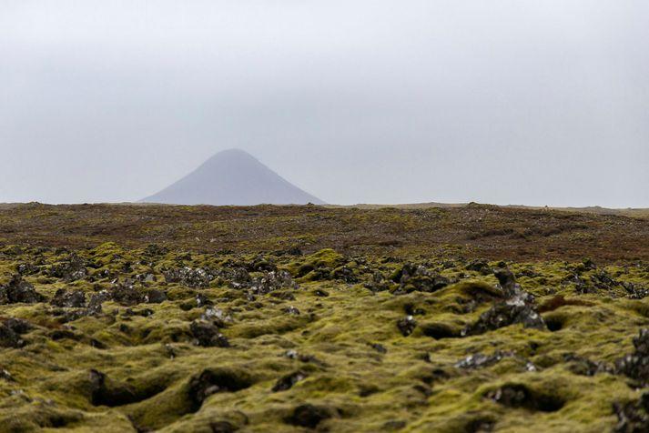 Í gær mældist óróapúls suður af Keili, nærri Litlahrút.