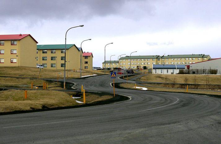 Innbrotið átt sér stað í Ásbrú í Reykjanesbæ.