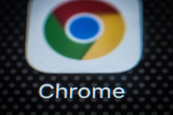 Chrome frá Google er mest notaði vefvafri heims.
