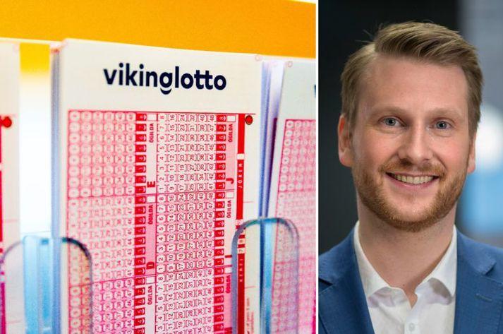 Björn Berg ræddi langstærsta lottóvinning Íslandssögunnar og sagði vinningshafann þurfa að halda vel á spilunum, ef ekki eigi illa að fara.
