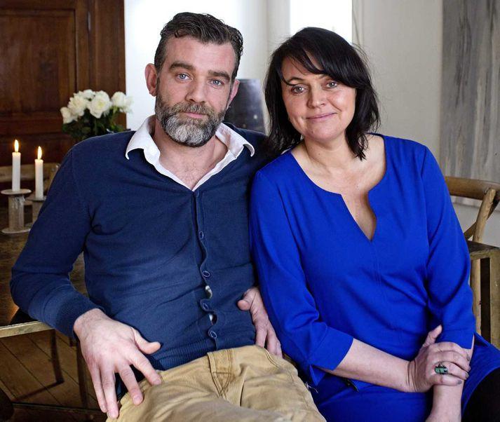 Stefán Karl og Steinunn Ólína voru gift í 16 ár.