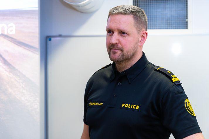 Rögnvaldur Ólafsson, aðalvarðstjóri hjá almannavarnardeild ríkislögreglustjóra.