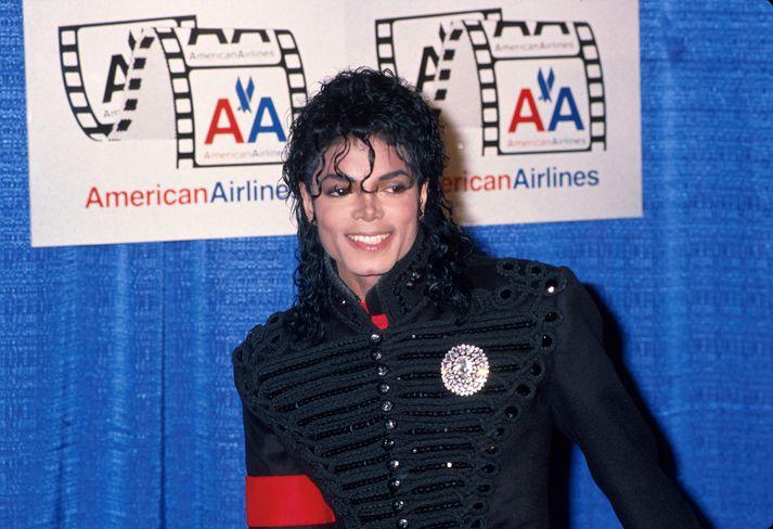 Michael Jackson var um margra ára skeið ein skærasta poppstjarna heims en hann lést árið 2009.