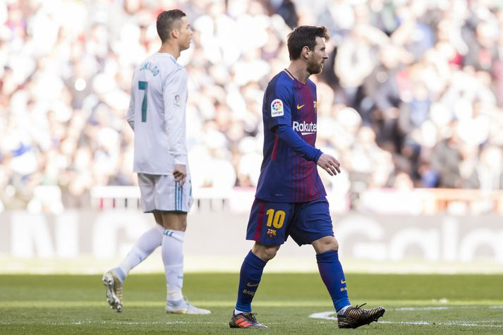 Lionel Messi og Cristinao Ronaldo.