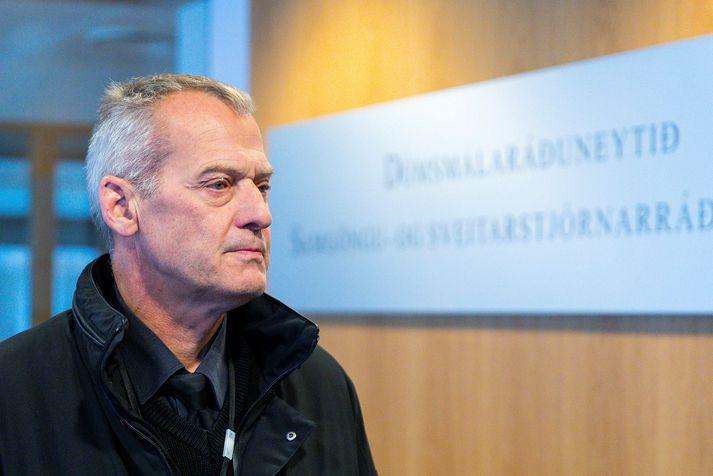 Jón Bjartmarz, yfirlögregluþjónn hjá Ríkislögreglustjóra.