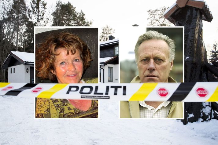 Anne-Elisabeth Hagen hvarf af heimili sínu og eiginmanns síns, Tom Hagen, 31. október 2018.