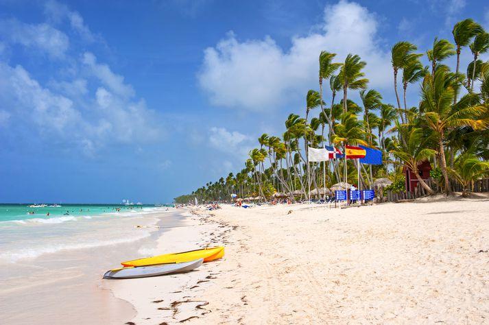 Frá ferðamannabænum Punta Cana í Dóminíska lýðveldinu.