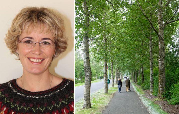 Gurrý Helgadóttir var gestur Bítismanna í morgun.