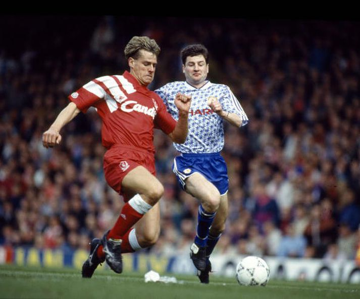 Nick Tanner, fyrrum framherji Liverpool.