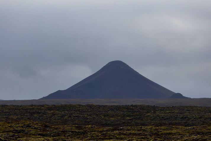 Jarðskjálftinn átti upptök sín rétt suðvestan við Keili.