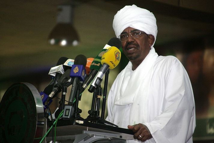 Omar al-Bashir komst til valda í Súdan í valdaráninu árið 1989.
