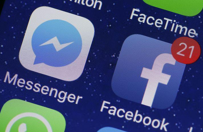 Langstærstur hluti Íslendinga er virkur á Facebook.