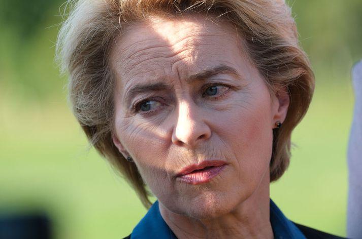 Ursula von der Leyen hefur verið tilnefnd til að taka við af Jean-Claude Juncker sem forseti framkvæmdastjórnar ESB.