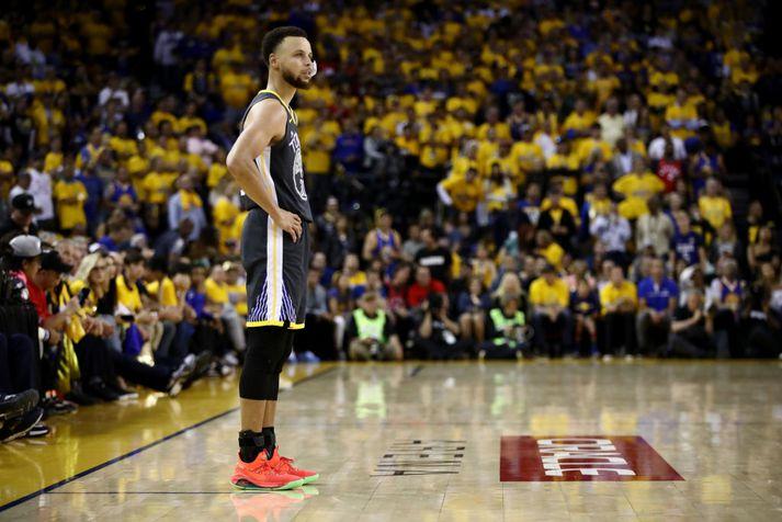 Stephen Curry er eitt stærsta nafn NBA deildarinnar