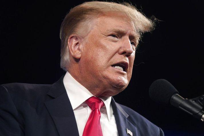 Trump hefur um árabil gert allt sem hann getur til að koma í veg fyrir að upplýsingar um fjármál sín verði opinber.