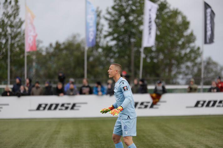 Hannes Þór Halldórsson hélt marki sínu hreinu í kvöld.