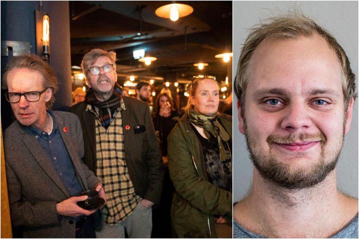 Mímir Kristjánsson leiddi sósíalista í Noregi til góðs kosningasigurs í Stafangri og því fagna vitaskuld íslenskir skoðanabræður hans.
