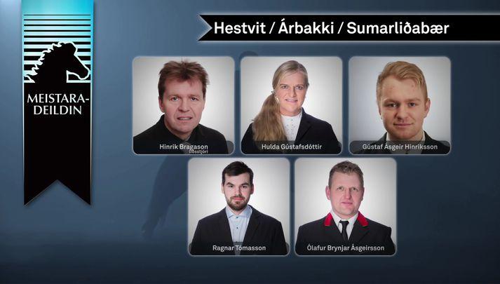 Lið Hestvits/Árbakka/Sumarliðabæjar.