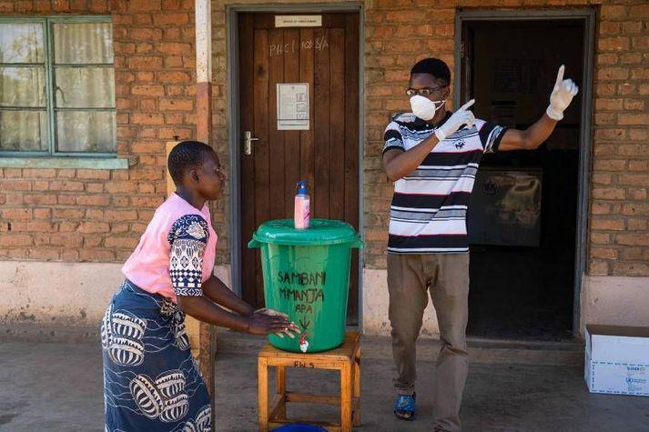 Ljósmynd frá Malaví