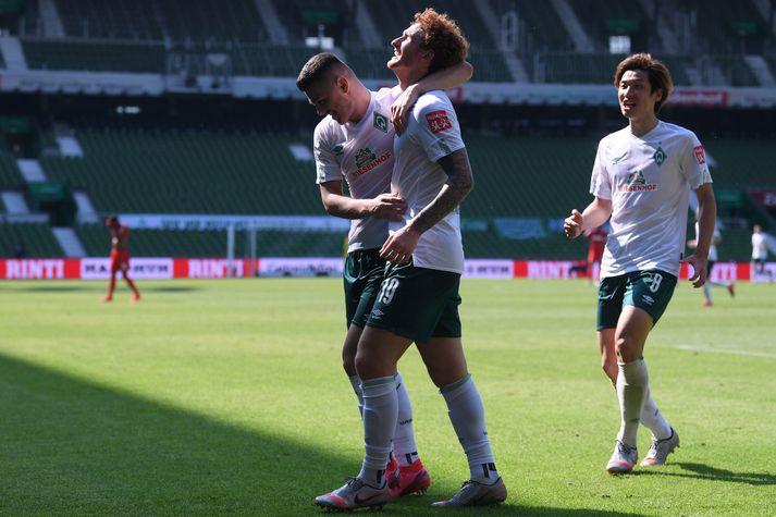 Werder Bremen slapp með skrekkinn eftir allt saman.