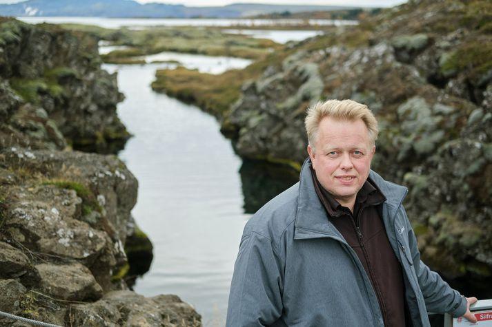 Einar Á.E. Sæmundsen þjóðgarðsvörður.