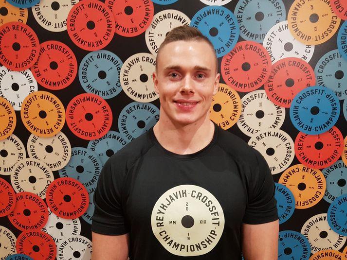 Björgvin Karl hefur tvisvar sinnum endað í 3. sæti á heimsleikunum í CrossFit.