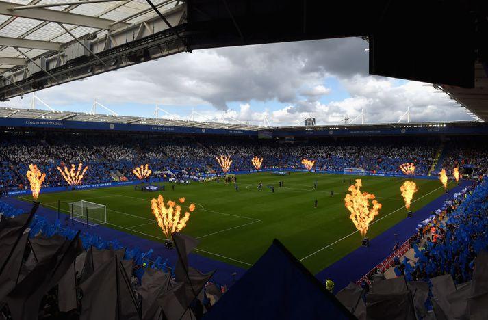 Leicester sigraði nýliða Brighton 2-0 á heimavelli í ágúst.