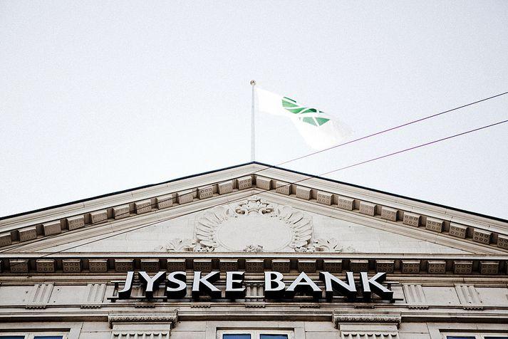 Jyske Bank er þriðji stærsti banki Danmerkur.