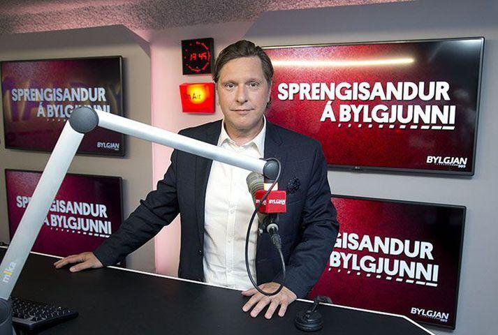 Kristján Kristjánsson tekur við Sprengisandi á Bylgjunni
