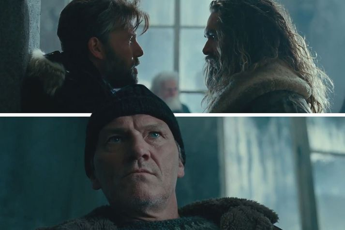 Ingvar E. Sigurðsson hvíslaði í eyru stjarnanna á tökustað ef þeim vafðist tunga um tönn við að taka íslensku.