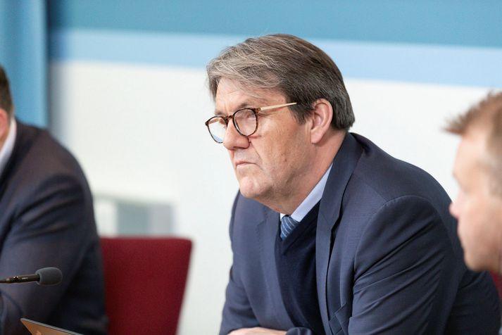 Óli Björn Kárason þingmaður Sjálfstæðisflokksins og formaður Efnahags- og viðskiptanefndar.