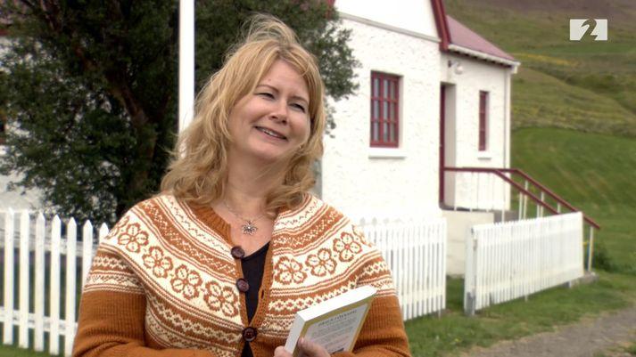 Hanna Rósa Sveinsdóttir, formaður Menningarfélagsins Hrauns.